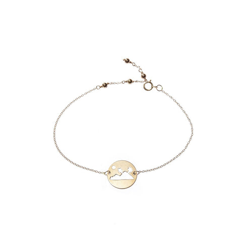 ISLAND BRACELET - YELLOW GOLD