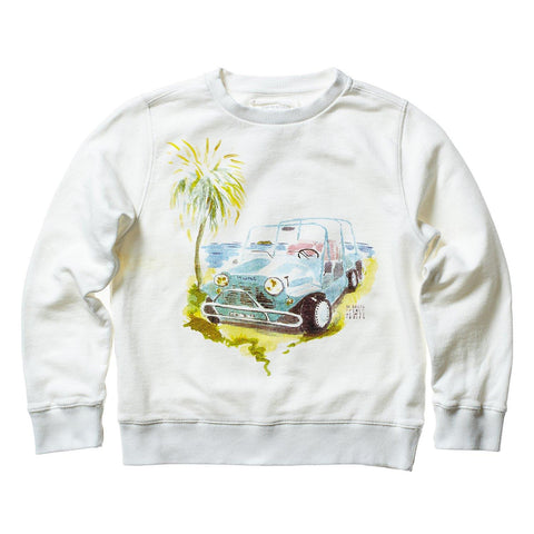 AQUARELLE KIDS SWEAT GOAT