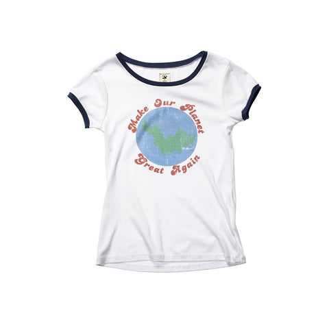 A GOOD TEE : MAKE OUR PLANET GREAT AGAIN WOMEN TEE