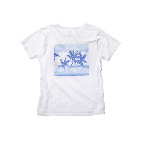 FRANÇOIS DISTRESSED TEE GRAND BLEU