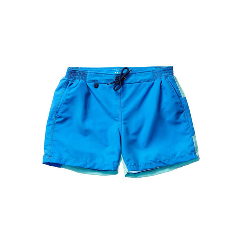 DEAN MEN SWIM SHORT - AQUA