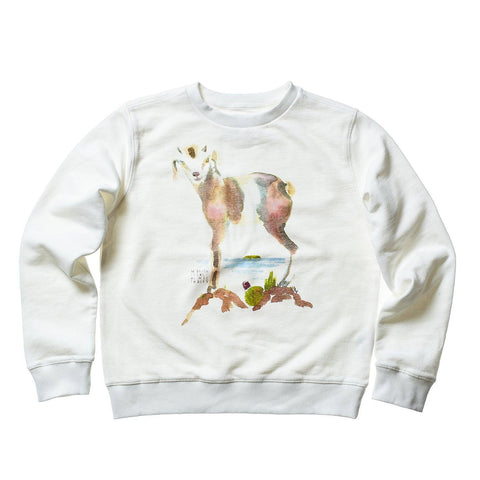 AQUARELLE WOMEN SWEAT GOAT