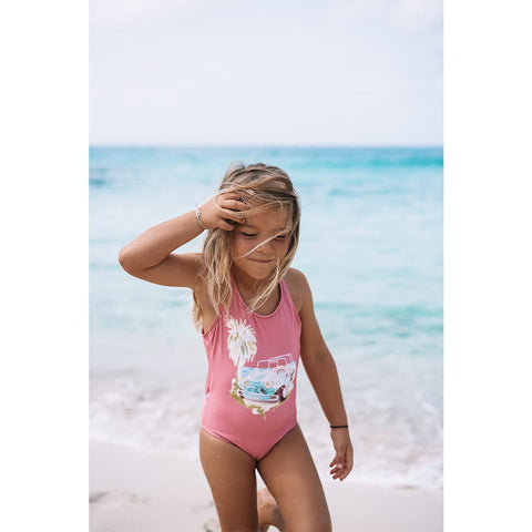 GIRL SWIM PINK MINI MOKE
