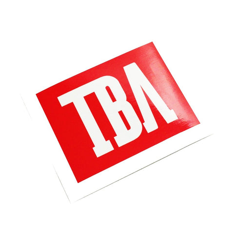 TBA CREW STICKER