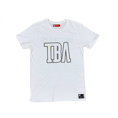 TBA ALL LOGO PATTERN TEE
