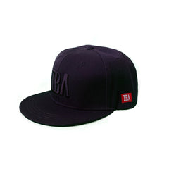 TBA BLACK ON BLACK SNAPBACK