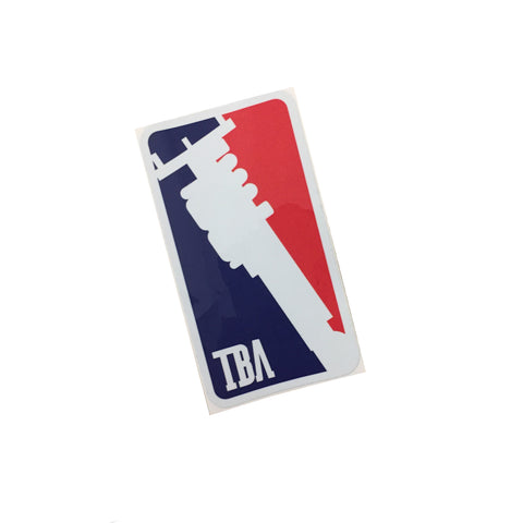 TBA BALLING STICKER