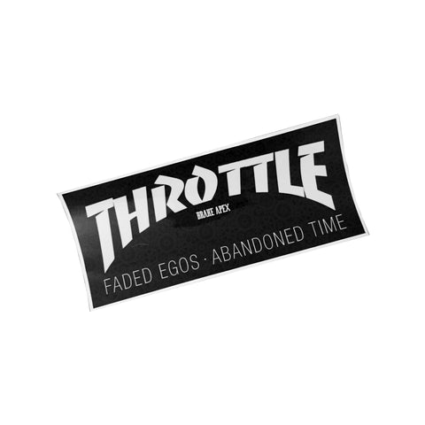 TBA THRASHER BOX STICKER