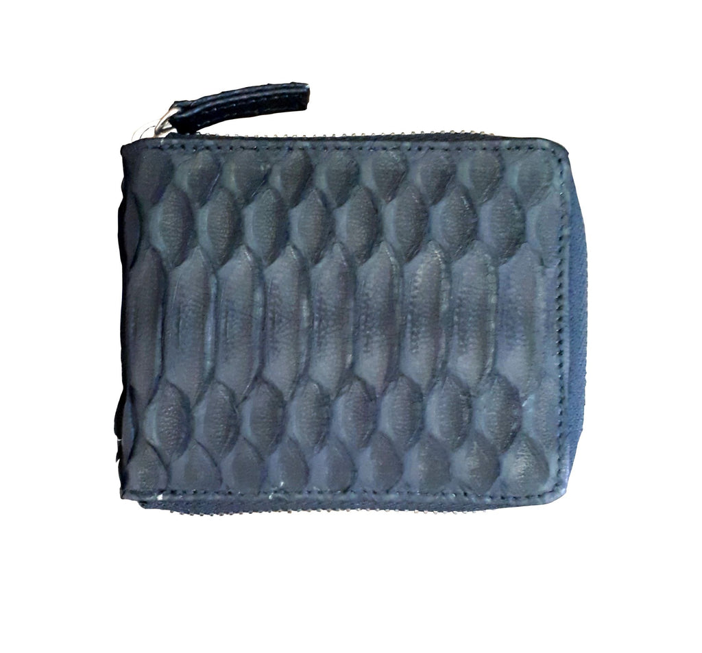 Python Men's Wallet With Zip