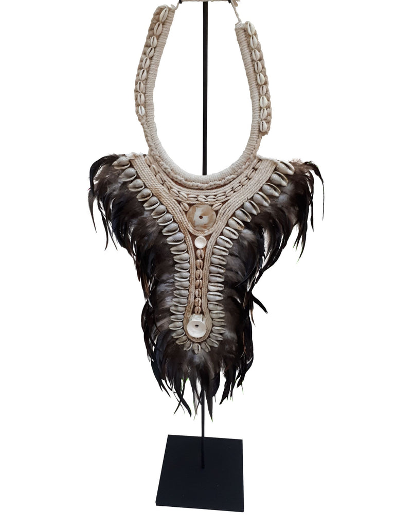 Papua Feather Necklace