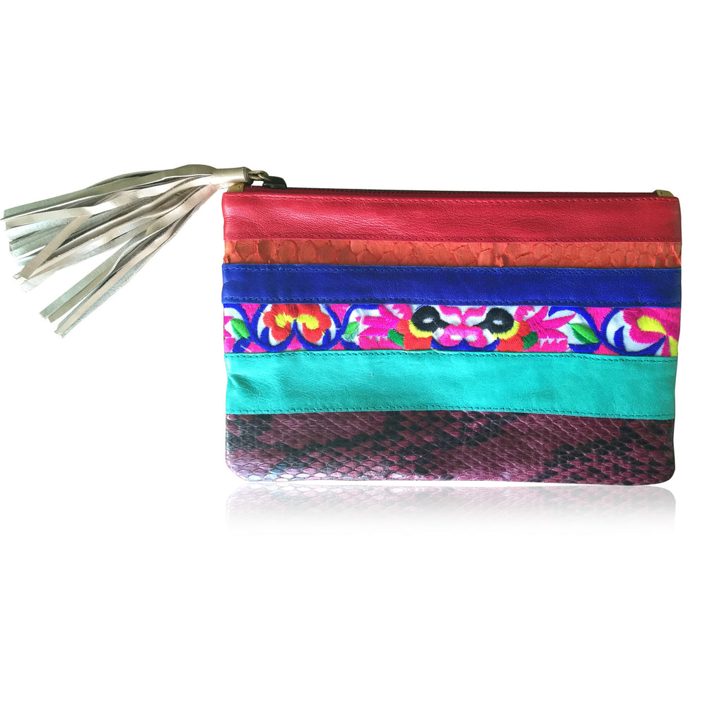 Morrocco Clutch - Every Single one is different!