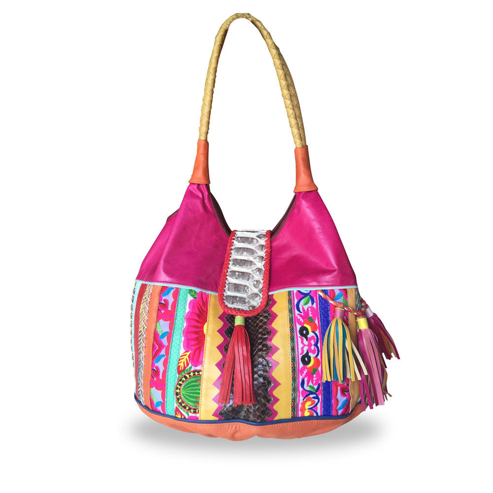 Large Morocco Bags - Pink Shades - Every Single one is different!