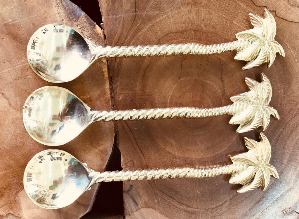 Coconut Tree Spoon - Set of 2