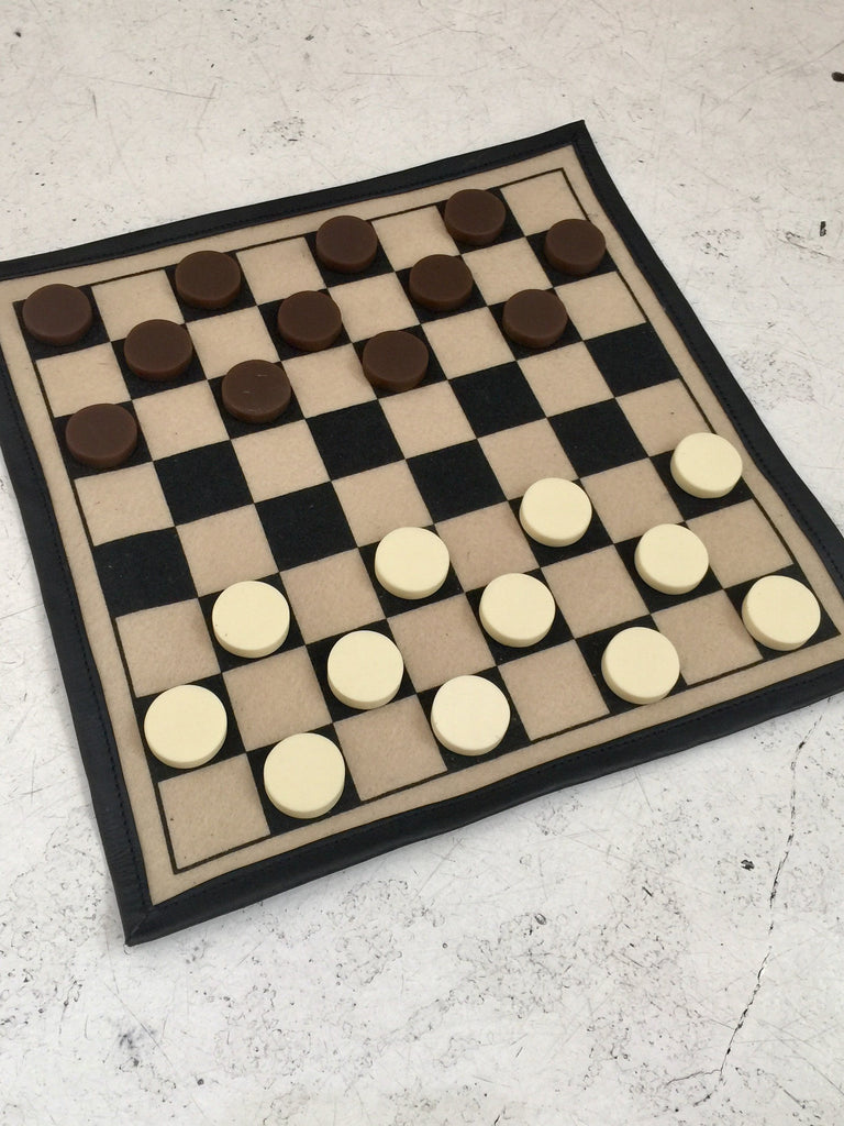 Backgammon and Checkers - Black