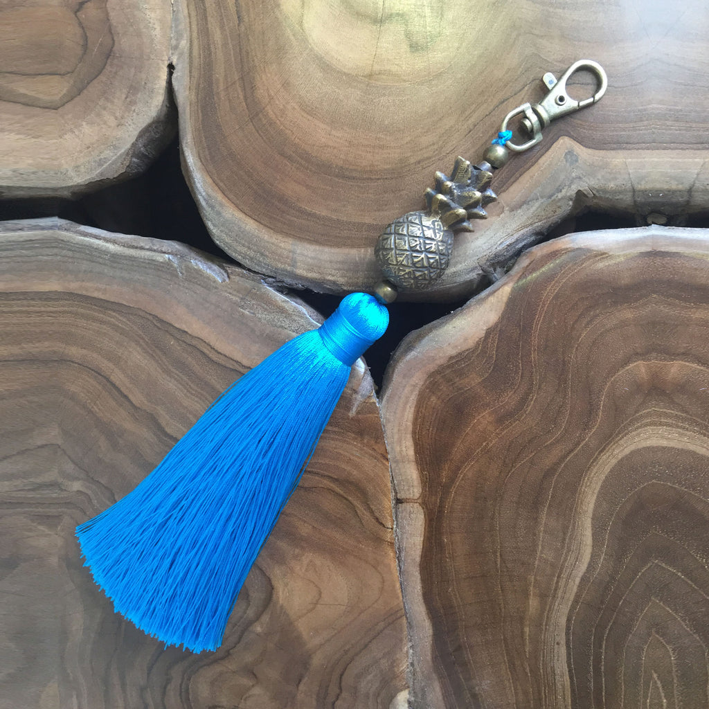 Pineapple Key Ring or Bag Accessory