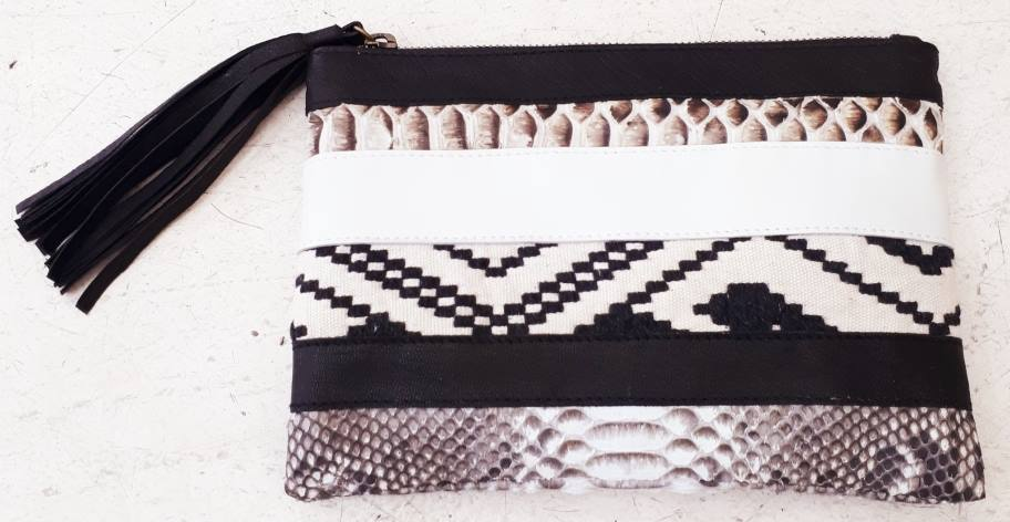 Morocco Clutch - Natural