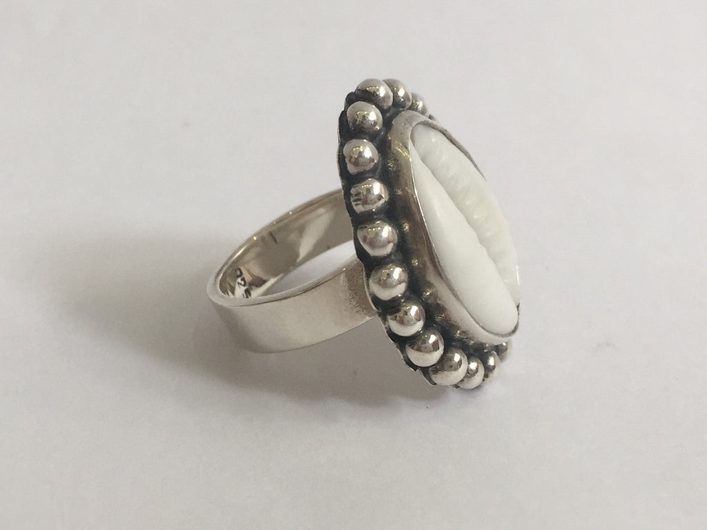 Small Cowrie Shell Ring