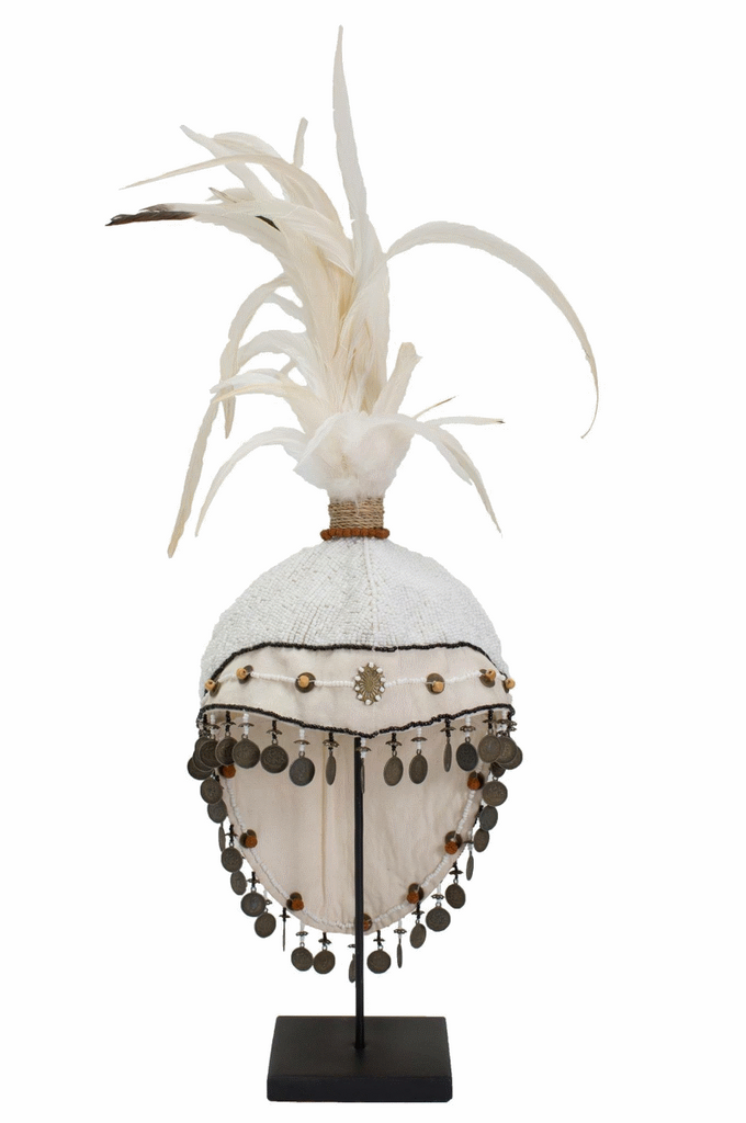 Tribal Head Piece. This fabulous piece with be the talking point of any home!