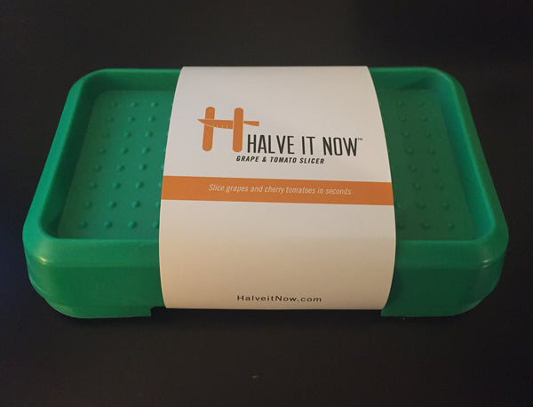 HalveitNow Grape and Cherry Tomato Slicer- packaging front