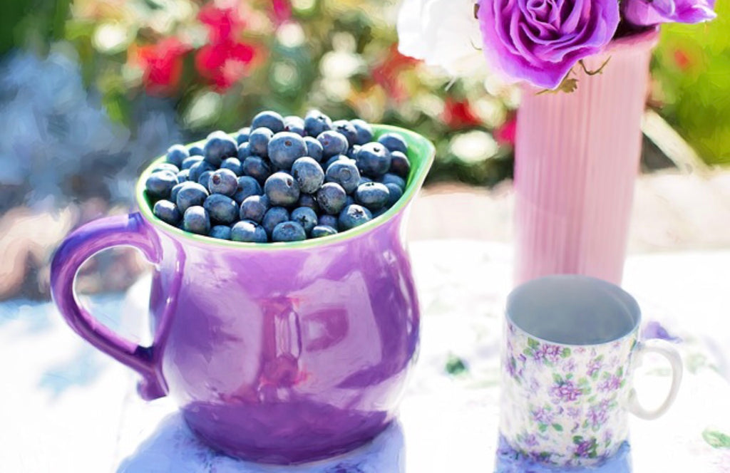 Eat your blueberries