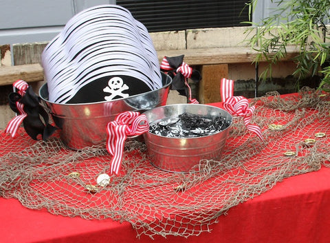 Pirate Birthday Party Favors