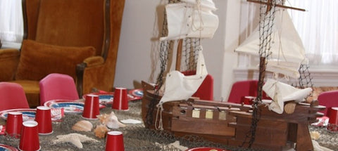 Pirate Birthday Party Decor