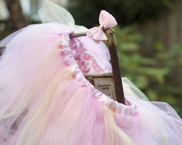ballerina birthday party favor, tulle tutu