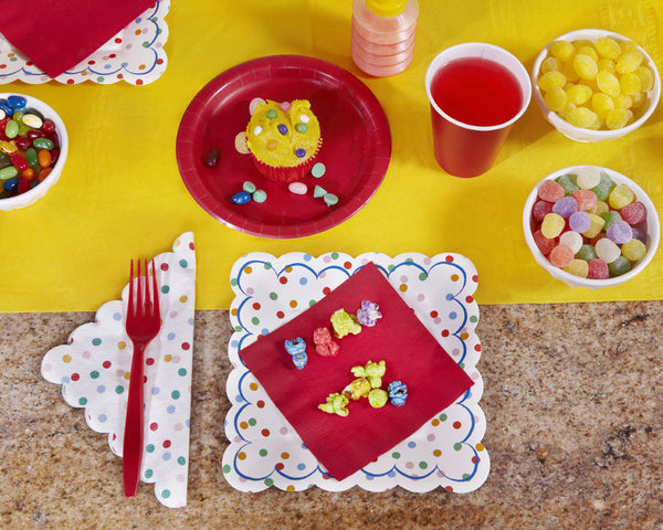 Festive Birthday Party Tableware & Decor