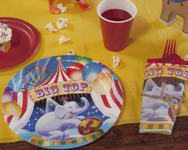 Circus Carnival Party Tableware & Decor