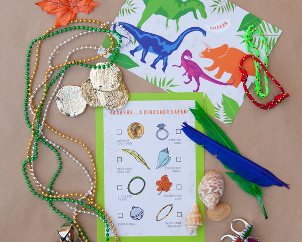 Dinosaur Safari Scavenger Hunt