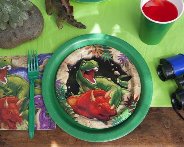 Dinosaur Safari Birthday Party Tableware & Decor