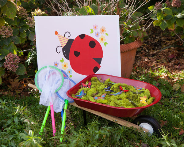 Ladybug Birthday Party Activity & Games