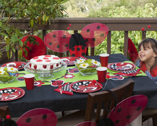 Ladybug Birthday Party Tableware & Decor