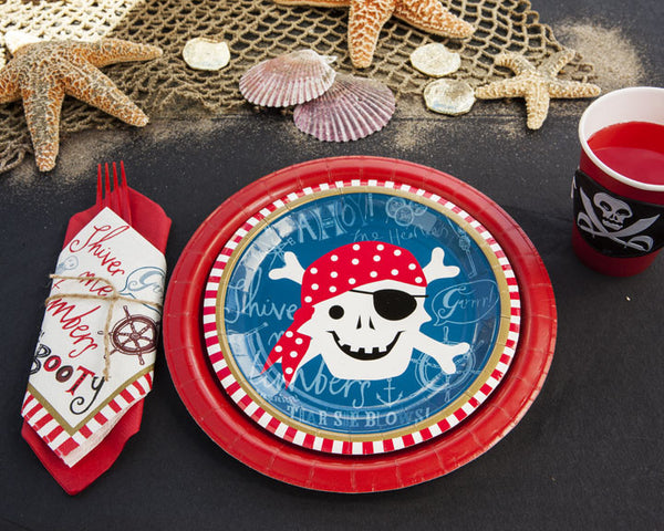 Pirate Birthday Party Tableware & Decor