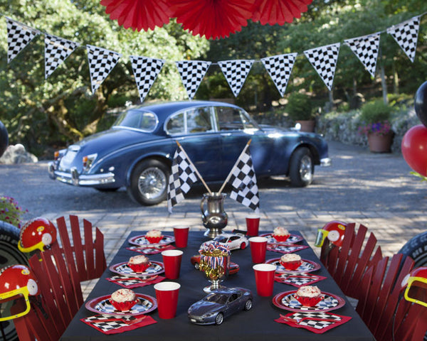 Racecar Birthday Party Tableware & Decor