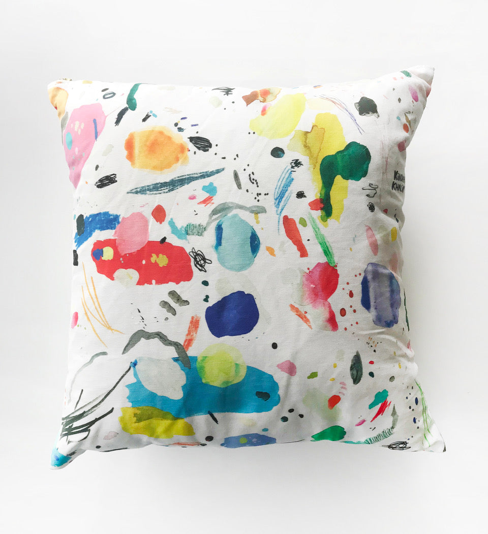 Palette Party Pillow