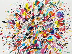 'Burst'  - Limited Edition Giclee Print