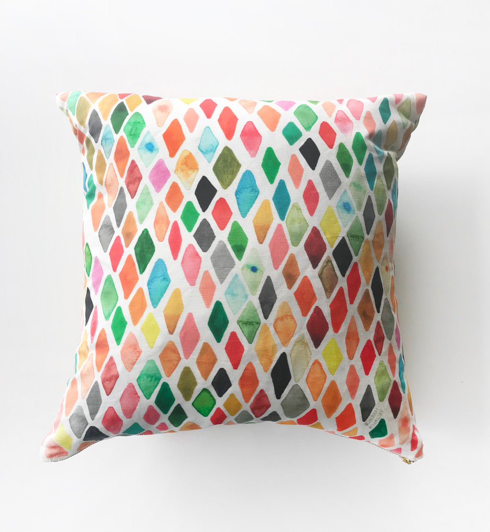 Diamond Spectrum Pillow