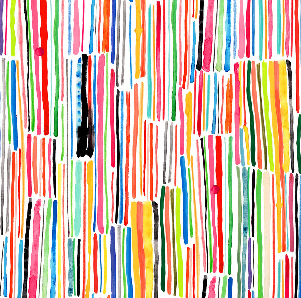 Sorbet Stripe - Fabric by the yard