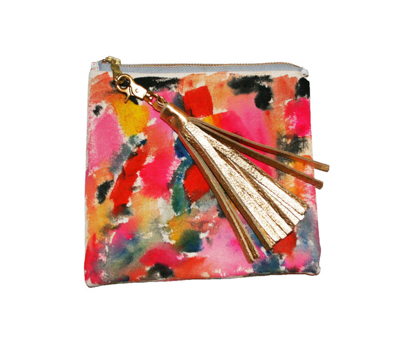 Mini Hand Painted Clutch