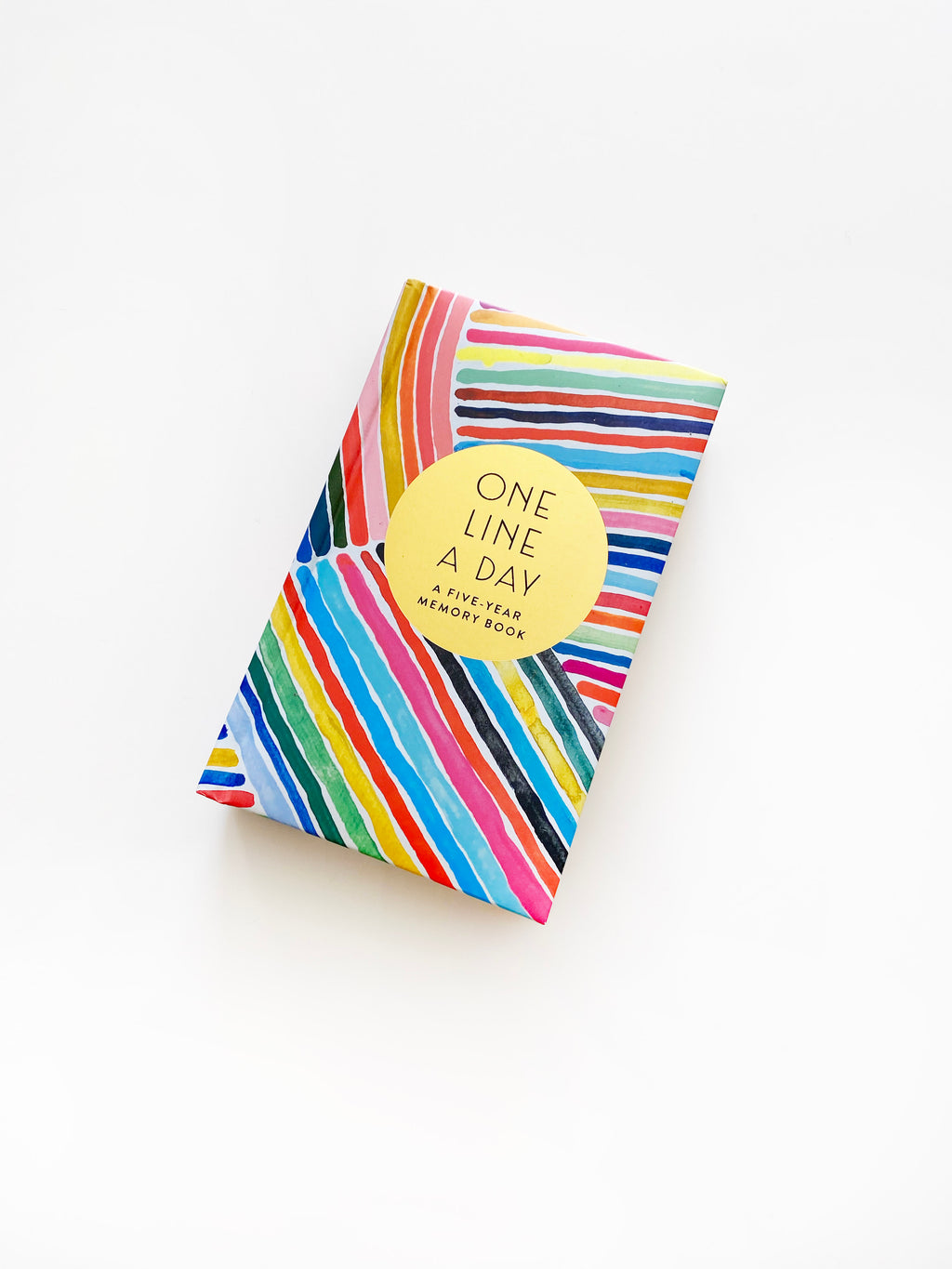 Pre-Order: Rainbow One Line a Day: A Five-Year Memory Book