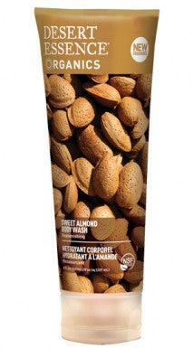Desert Essence Tatlı Badem Özlü Duş jeli/Sweet Almond Body Wash 237 ml