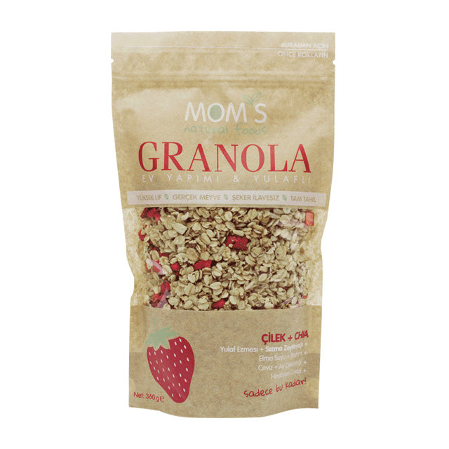 Mom's Granola 360 g/ Çilek ve Chia