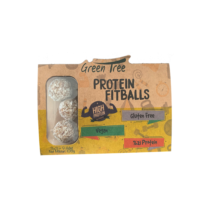 Green Tree Protein Fitballs 108 g