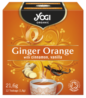 Yogi Organic Ginger Orange 21.6 g