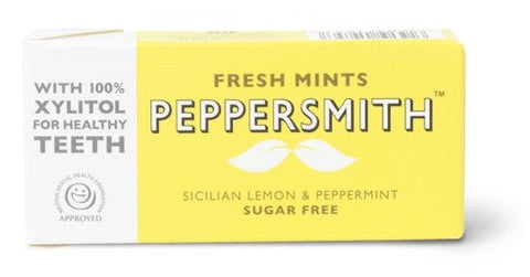 Peppersmith Fresh Mints Limon ve Naneli Şekerleme