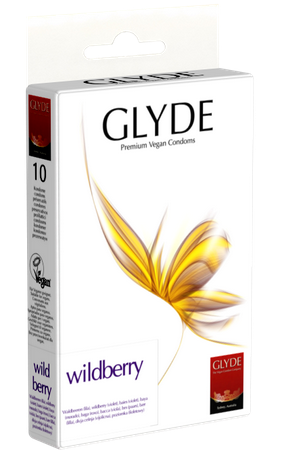 Glyde Vegan Prezervatif Wildberry