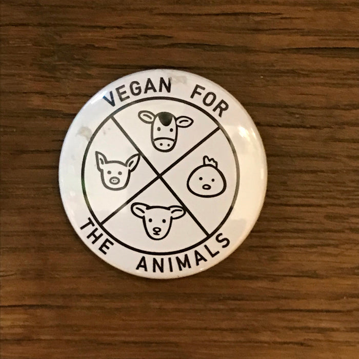 Rozet VEGAN FOR ANIMALS