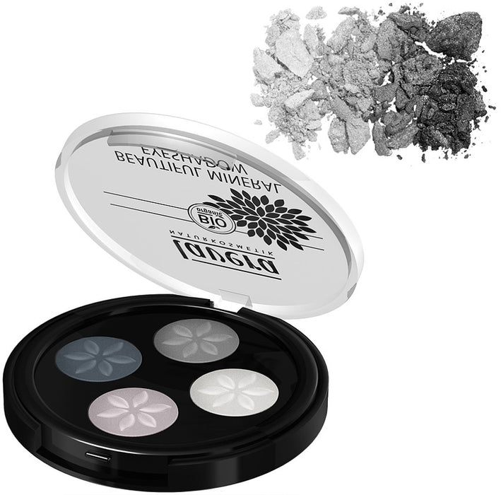 Lavera Organik Mineral Göz Farı/Beautiful Mineral Eye Shadow - Smoky Grey  Dörtlü