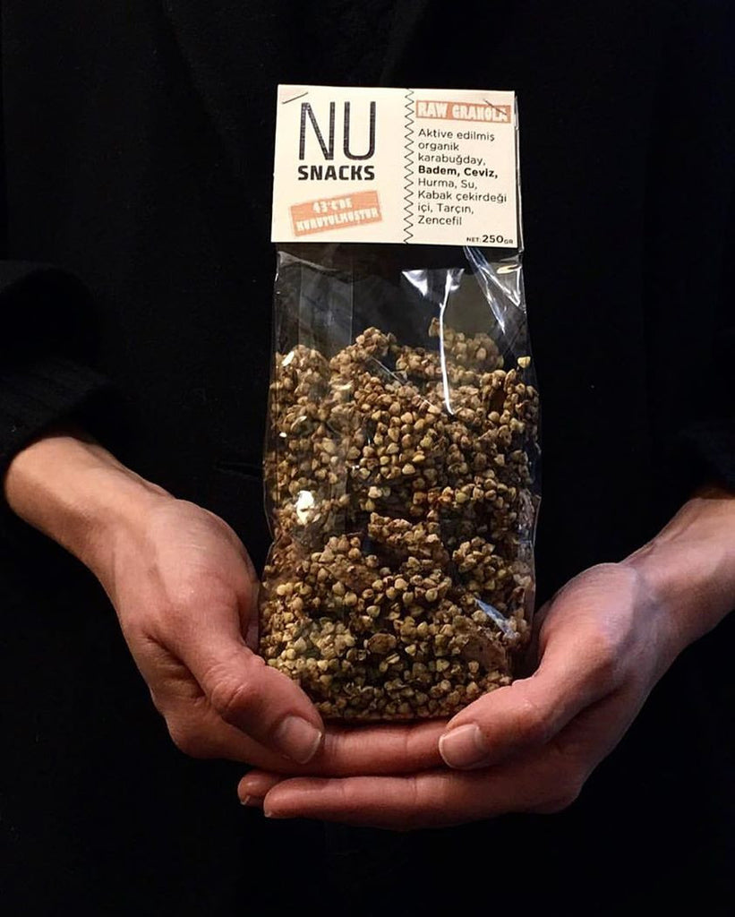 Nu Snacks Raw Granola 250 g